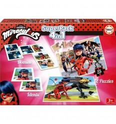 Educa superpack miraculous / ladybug