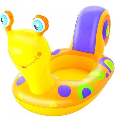 Barquita flotante caracol