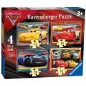 Puzzle progresivo Cars 3 12-16-20-24
