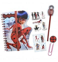 Diario con accesorios Ladybug