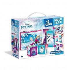 Rompecabezas 12 cubos frozen