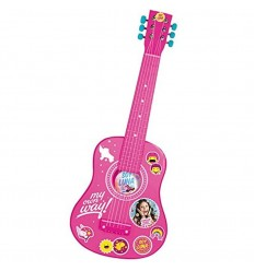 Guitarra madera 65 cm soy luna