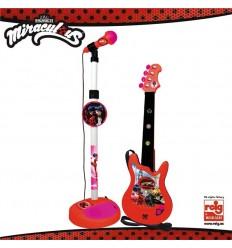 Micro y guitarra ladybug