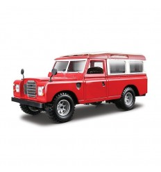Land rover series ii color rojo