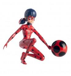 Ladybug figura de accion salta y vuela 19cm