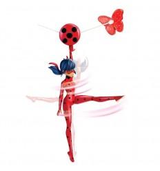 Ladybug figura de accion con tirolina 19cm