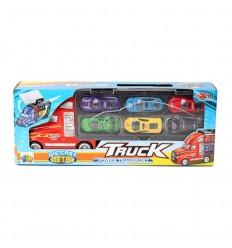 Camion portacoches con 6 coches