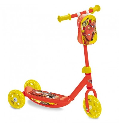 Patinete 3 ruedas cars