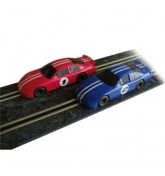 Scalextric compact 2 coches ford fusion -3704