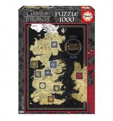 Puzzle 1000 juego de tronos