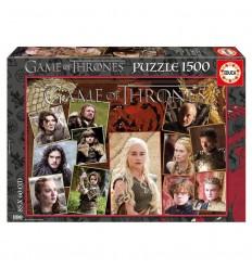 Puzzle 1500 juego de tronos