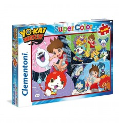 Puzzle 3 x 48 yo kai watch