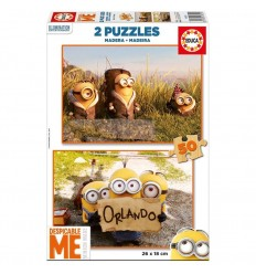 Puzzle 2 x 50 minions
