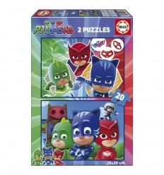 Puzzle 2 x 20 PJ Masks