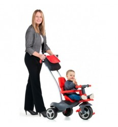 Triciclo infantil Urban Trike Soft Control Rojo