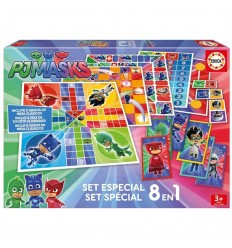 Educa set especial pjmasks 8 en 1