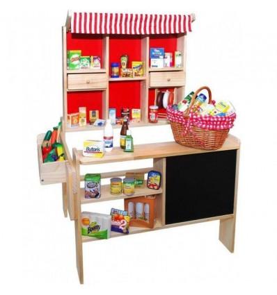 Supermercado madera