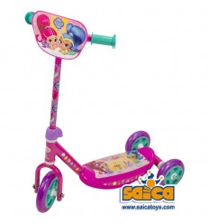 Patinete 3 ruedas shimmer and shine