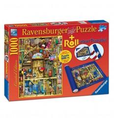 Puzzle 1000 libreria bizarra + roll