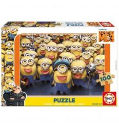 Puzzle 100 despicable me 3