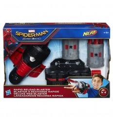 Spiderman armadura lanza redes