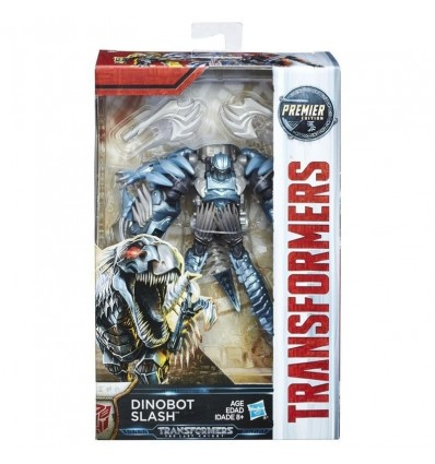 Transformer figuras deluxe dinobot slash