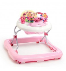 Andador rosa con electronics ref.bs60287