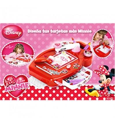 Diseña tus tarjetas con Minnie