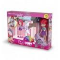 Piny kt fashion test con muñeca michelle