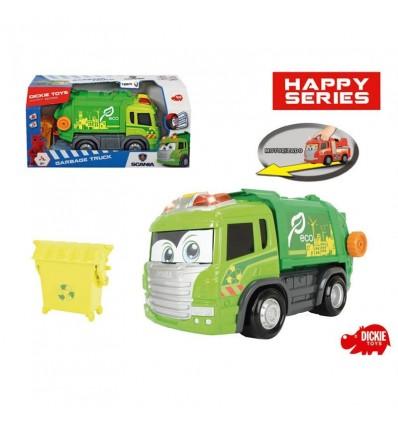 Camión reciclaje infantil luces y sonidos
