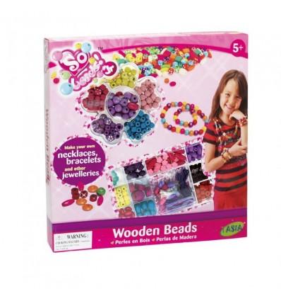 Crea tus pulseras bolas de colores
