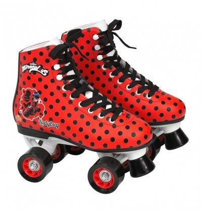 Patin bota talla 39 lady bug