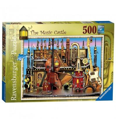 Puzzle 500 music castle(colinthomp.)