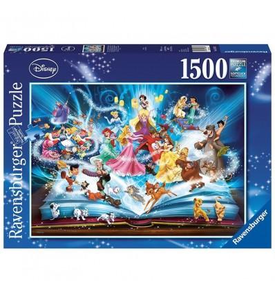 Puzzle 1500 il magico libro delle fiabe disney