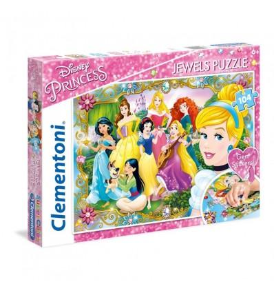 Puzzle 104 princesas