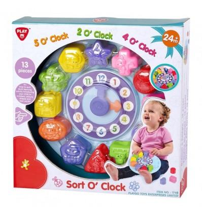 Reloj infantil con encajes