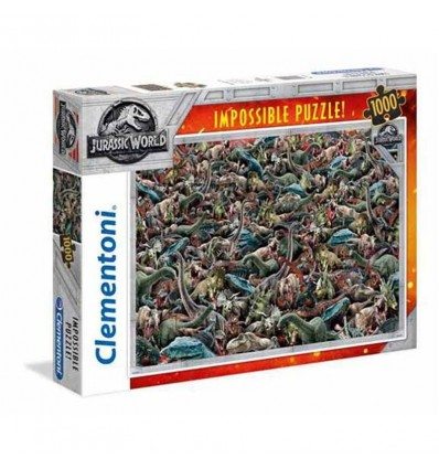 Puzzle 1000 imposible jurassic world
