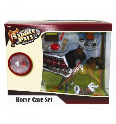 Set 2 caballos con accesorios