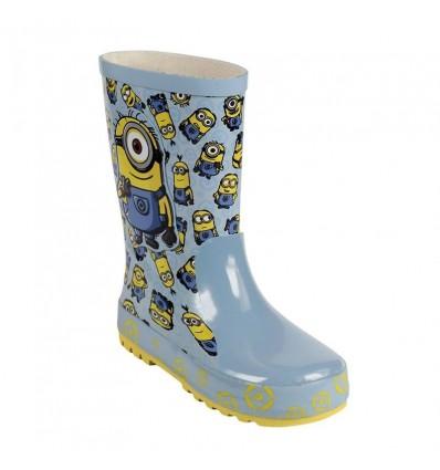 Botas de lluvia goma Minions T029