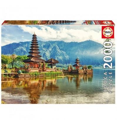 Puzzle 2000 templo ulun danu, bali, indonesia