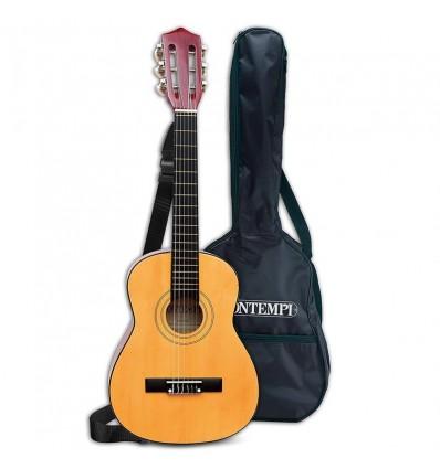 Guitarra madera 75 con funda