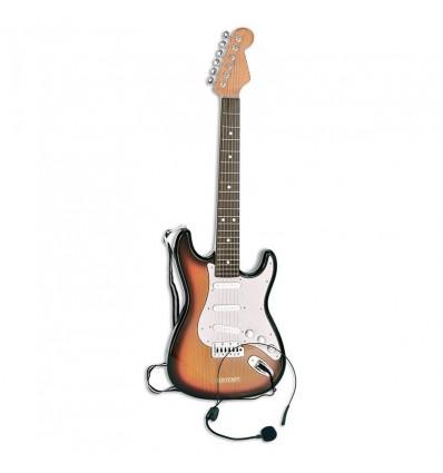 Guitarra electrica con micro