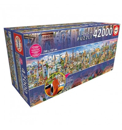 Puzzle 42000 la vuelta al mundo