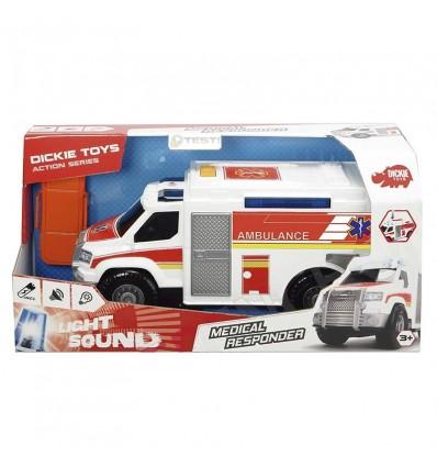 Ambulancia 30 cm luz y sonido