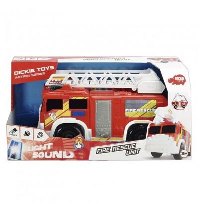 Camión bomberos 30 cm luz y sonido