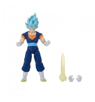 Figura deluxe dragon ball super saiyan blue vegito
