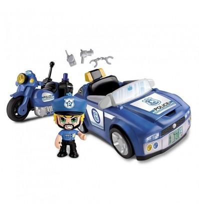 Pinypon action policia vehiculos de acción