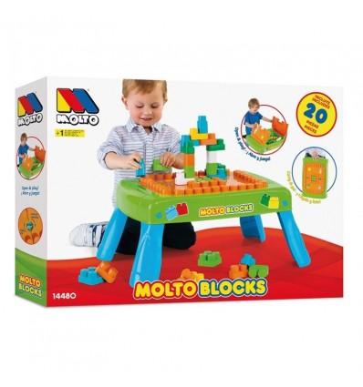 Mesa blocks con 20 piezas