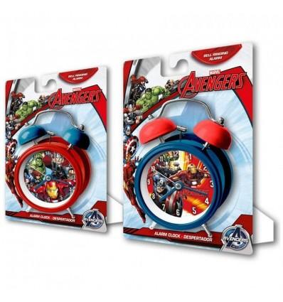 Reloj campanas 9 cm. avengers