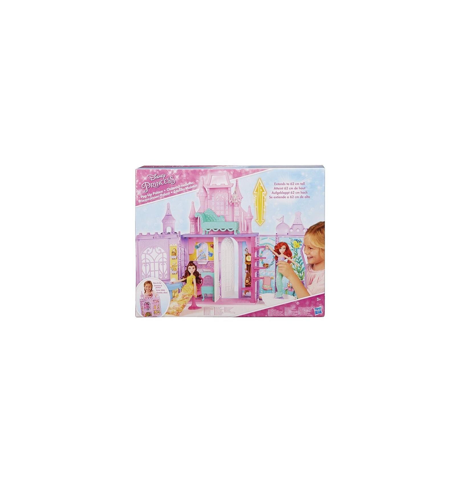 59ea8f736 Castillo maletín con princesa + muñeca